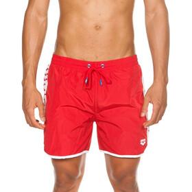 arena Team Stripe Boxer Hombre, red/white/red